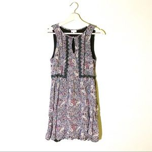 Pixley | Dress Floral Keyhole Lace Sleeveless Med